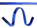 Fecho Prático Aramado 4x11cm Metalizado Azul 100unid