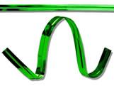 Fecho Prático Aramado 4x11cm Metalizado Verde 100unid