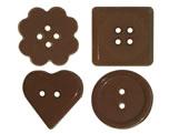 Forma Botões Ref.9290 BWB, Medidas: 24 x 18.5 x 0.5 cm