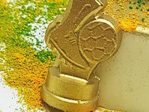 Forma Chuteira de Ouro 5g Ref.9574 BWB