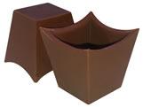 Forma com Silicone Copo Mousse3 25g Ref.9427 BWB, Medidas: 24 x 18.5 x 3.5 cm