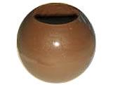 Forma com Silicone Esfera com Furo 25mm 2.5cm 11g Ref.9436 BWB