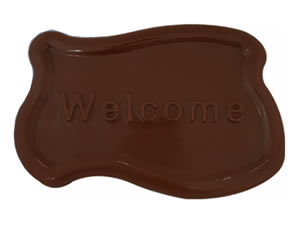 Forma Placa Welcome Ref.9525 BWB