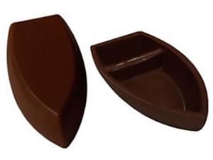 Forma com Silicone Barca de Chocolate G 100g Ref.9544 BWB