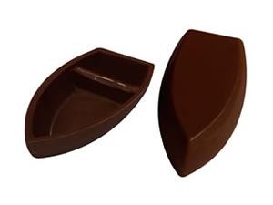 Forma com Silicone Barca de Chocolate M 59g Ref.9543 BWB
