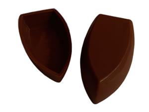 Forma com Silicone Barca de Chocolate P 18g Ref.9542 BWB