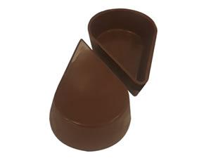 Forma com Silicone Chocolate de Colher Gota 34g Ref.9545 BWB