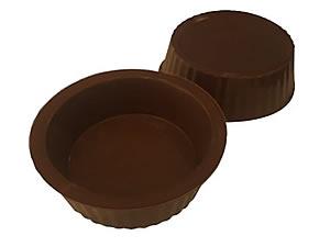 Forma com Silicone Chocolate de Colher Redondo 40g Ref.9546 BWB