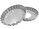 Forma de Aluminio Torta de Maçã Crespa Fundo Falso nº9 Ref.9366 BWB
