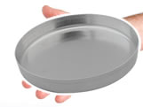 Forma de Mini Pizza nº15 Ref.9371 BWB, Medidas: 15 x 15 x 1.5 cm