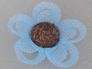 Forminha Tropical Naturate Azul Claro 50unid Maxiformas Acetplace Ref.831484