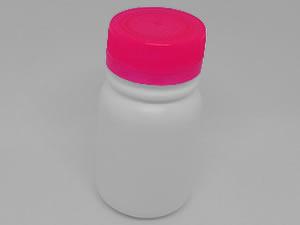 Frasco Inviolável 35ml com Tampa Lacre Pink