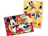 Kit Decorativo 17 Adesivos e 01 Painel Mickey Classico Regina Festas