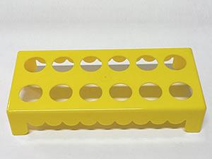 Mesa para Tubete 1unid com 12 cavidades Amarela