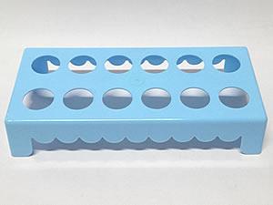 Mesa para Tubete 1unid com 12 cavidades Azul Claro