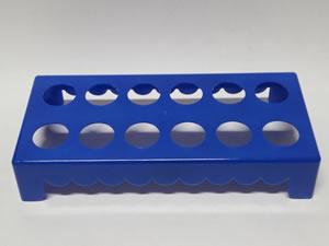 Mesa para Tubete 1unid com 12 cavidades Azul Escuro