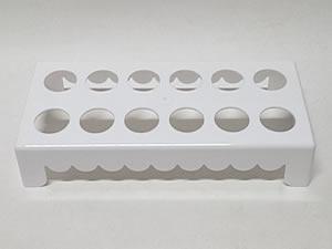 Mesa para Tubete 1unid com 12 cavidades Branca