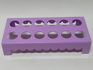 Mesa para Tubete 1unid com 12 cavidades Lilas