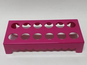 Mesa para Tubete 1unid com 12 cavidades Pink