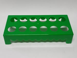 Mesa para Tubete 1unid com 12 cavidades Verde Escuro