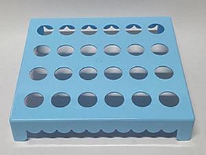 Mesa para Tubete 1unid com 24 cavidades Azul Claro