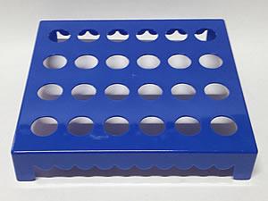 Mesa para Tubete 1unid com 24 cavidades Azul Escuro