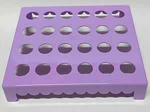 Mesa para Tubete 1unid com 24 cavidades Lilas