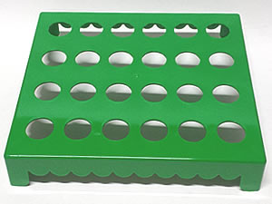 Mesa para Tubete 1unid com 24 cavidades Verde Escuro