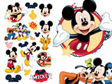 Mini Personagem Decorativo Mickey Classico 17unid Regina Festas, Medidas: 24.7 x 14.3 cm