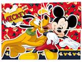 Painel para Decoração Mickey Classico 01unid Regina Festas, Medidas: 126 x 88 cm