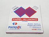 Papel Chumbo Aluminio 16x15cm Pink