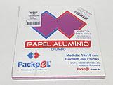 Papel Chumbo Aluminio 16x15cm Rosa