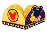 Porta Forminha Mickey Classico 50unid Regina Festas, Medidas: 4 x 4 x 2.5 cm