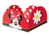 Porta Forminha Red Minnie 50unid Regina Festas