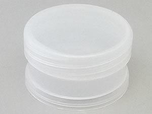 Pote 30g Redondo de Plástico PP Natural com Tampa