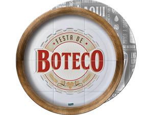 Prato Bar Boteco 18cm 08unid Festcolor