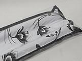 Protetor de Porta Duplo 80cm Estampa Floral 1