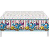 Toalha Plástica de Mesa Galinha Pintadinha Diversão Festcolor, Medidas: 1.20m X 1.80m cm