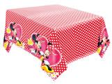Toalha de Papel para Mesa Red Minnie 01unid Regina Festas