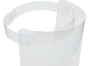 Mascara de Acetato Protetor Facial 10unid espessura 0,50mm