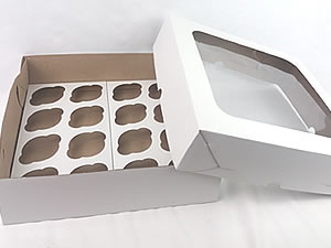 Caixa com Visor para 16 Cupcakes Combo-43