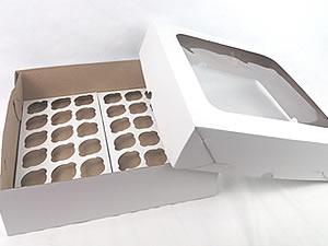 Caixa com Visor para 36 Mini Cupcakes Combo-42