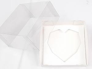 Caixa Combo-57 BRANCA para Meio Coração Lapidado 200g