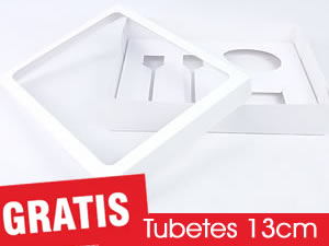 Caixa Kit Confeiteiro Branco 150g