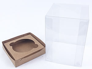 Caixa para 1 Cupcake Padrão Combo-51