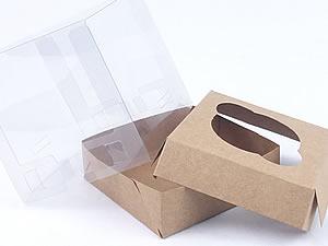 Caixa para 1 Cupcake Padrão Combo-52