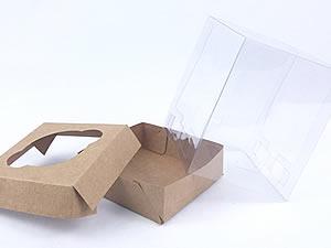 Caixa para 1 Cupcake Padrão Combo-53