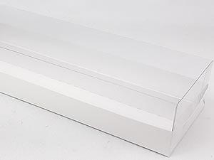 Caixa-324 BRANCA com Divisória para 20 macaron 5x2.5 cm