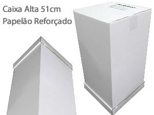 Caixa Alta 51cm Caixa de Papelão Reforçado