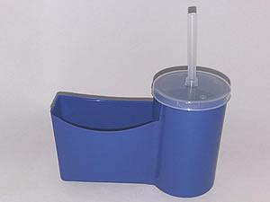 Cesto para Fritas com Copo para Refrigerante - Reifritas Azul Escuro